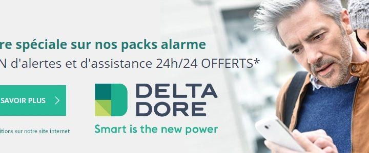 Offre spéciale sur les services surveillance Deltadore