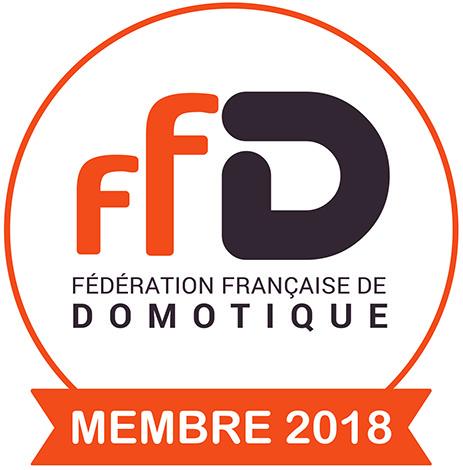 Membre fédération française de domotique 2018