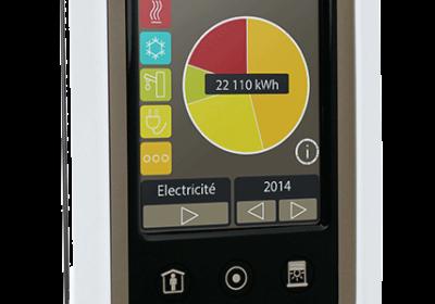 Indicateur de consommation d'énergie TYWATT 2000 Deltadore