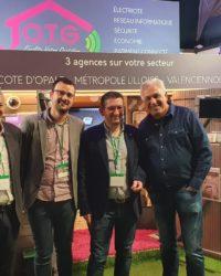 L'équipe OTG et Stéphane Thébaut (La Maison France 5)